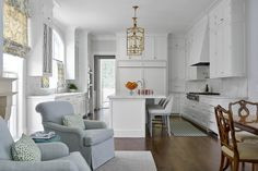 Kitchens – jenkins interiors Open to Dining Room and Keeping Room