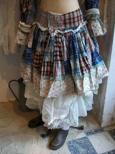 #Boho skirt