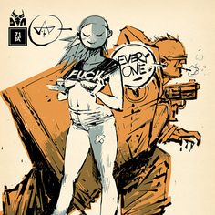 Ashley Wood, Artwork, Three A, T P Louise erotic Die Antwoord, Ashley Wood, Character Concept, Character Art, Concept Art, Gorillaz, Mc Bess, Character Illustration, Illustration Art