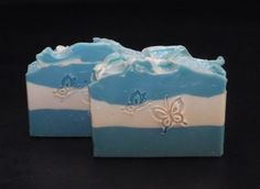 Summer Clean Soap, Scented Soap, Handcrafted Soap, Cold Process Soap, Handmade Soap, Artisan Soap, Gift For Her, Gift For Him, Blue Soap by ButterfliesSoaps on Etsy https://www.etsy.com/uk/listing/196973348/summer-clean-soap-scented-soap