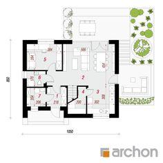 Dom w malinówkach 11 Floor Plans, Interior, Houses, City, Homes, Indoor, Interiors, House, Computer Case