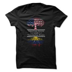 This Shirt Makes A Great Gift For You And Your Family.  American Grown with Venezuelan Roots .Ugly Sweater, Xmas  Shirts,  Xmas T Shirts,  Job Shirts,  Tees,  Hoodies,  Ugly Sweaters,  Long Sleeve,  Funny Shirts,  Mama,  Boyfriend,  Girl,  Guy,  Lovers,  Papa,  Dad,  Daddy,  Grandma,  Grandpa,  Mi Mi,  Old Man,  Old Woman, Occupation T Shirts, Profession T Shirts, Career T Shirts,