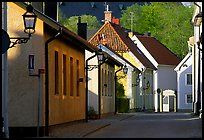 Streets in old town, Vadstena. Gotaland, Sweden,Part of gallery of color pictures of Europe by professional photographer QT Luong, available as prints or for licensing. Sweden Travel, Family Roots, Colorful Pictures, Old Town, Wonders Of The World, Picture Photo, Places Ive Been, Around The Worlds, Europe