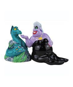 Look at this #zulilyfind! Ursula & Eels Salt & Pepper Shakers #zulilyfinds
