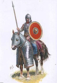 Roman heavy cavalry 4th century