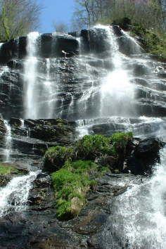 Amicalola Falls State Park in Dawsonville, Georgia