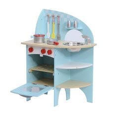Cocinas de Juguete Madera Cocinita Infantil Juguetes Niños y Niñas + Accesorios