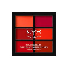 Shop the original NYX Professional Make Up Pro Lip Cream Palette online with Easy Returns & Purchase Protection. Get Off on your first purchase of Nyx Professional Best Drugstore Red Lipstick, Red Lipsticks, Makeup Moisturizer, Nyx Makeup, Makeup Geek, Lip Palette, Makeup Palette, Eyeshadow Palette, Professional Makeup Bag