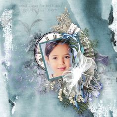 """layouts using """"Melancholic Mind"""" Collection by D's Design - scrapbooking digital"""