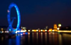 London eye bokeh!
