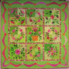 Emily's Garden, Alice Kay Quilts