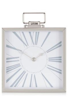 Buy Premium Chrome Mantle Clock from the Next UK online shop Mantle Clock, Chrome, New Homes, Wall, Uk Online, Home Decor, Lounge, Living Room, Shop