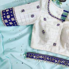 Latest Blouse Neck Designs, New Saree Blouse Designs, Cutwork Blouse Designs, Fancy Blouse Designs, Blouse Patterns, Dress Designs, Traditional Blouse Designs, Kurta Neck Design, Stylish Blouse Design