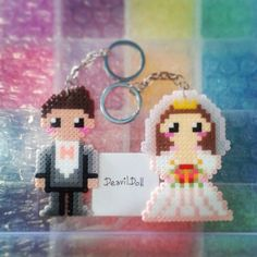 Brudepar - Nøglering