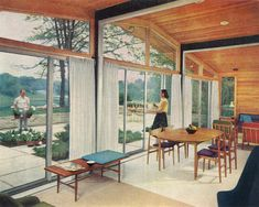 Alcoa Care-Free model home was featured in the October 1957 issue of Better Homes and Gardens