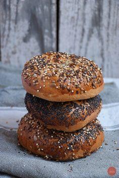 Bagels #bagels #sourdough #bread