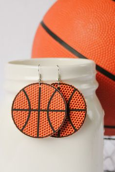 BASKETBALL leather earrings are a HUGE hit! These adorable basketball leather earrings are the perfect accessory to your fashionable outfit! Whether you love the classic teardrop, round, or a heart shaped earring, you can't go wrong with any of these choices! Click through to view even more Basketball leather earring options! #basketballteardrop #sportsleatherearrings #sportsfashion #basketballmomearrings Sell On Etsy, My Etsy Shop, Heart Shaped Earrings, Basketball Mom, Fashion Jewelry, Women's Fashion, Color Harmony, Small Heart, Handmade Decorations