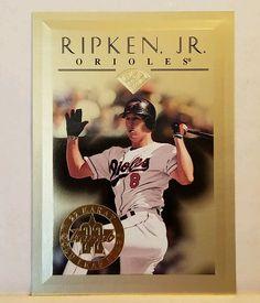 Cal Ripken Jr Baseball Card 1996 Leaf 22 Karat Gold Leaf Stars Rare HOF 625/2500 #Leaf #BaltimoreOrioles #forsale #calripkenjr #baseballcard #ebay #birdtown #donruss #mlb #sportscard #cardcollector #vintage #limited #HOF #baltimore #orioles #baltimoreorioles #rarecard #numberedcard http://ow.ly/1fKu307yZSf