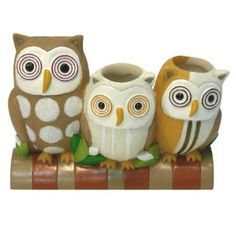Amazon.com: Allure Home Creations Hoot Toothbrush Holder: Home & Kitchen