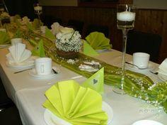 Hochzeit: Tischdeko für den Hochzeitstisch