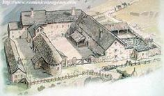 Inspiration for Chapter 1. An artist's rendering of what the medieval pilgrim hospice of Santa Cristina de Somport in the Pyrenees might have looked like.