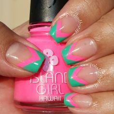 Instagram photo by polishedbytiff  #nail #nails #nailart