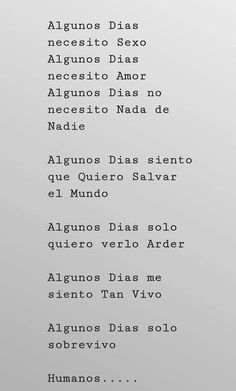 Spanish quotes amor - Soy un caos Poem Quotes, Daily Quotes, True Quotes, Words Quotes, Sayings, More Than Words, Some Words, Quotes En Espanol, Smart Quotes