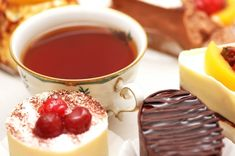 http://www.essentially-england.com/traditional-english-recipes-teatime.html   I don't have the sweetest of teeth, but I love afternoon tea and all its treats. So here is a rather lengthy and steadily growing list of traditional English recipes for afternoon tea treats. Try and enjoy