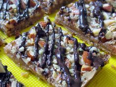Schulz Family Recipe Collection: Toffee Almond Squares