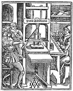 La imprenta manual