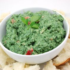 herbed spinach dip.
