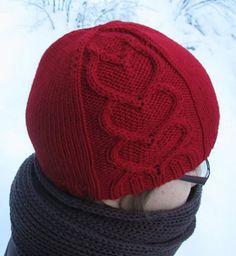 Valentine Hat!     Ravelry: Rakkaudella sinun pattern by Tiina Kuu
