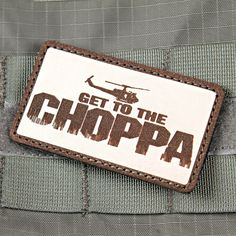 Get To The Chopper Predator Morale Patch