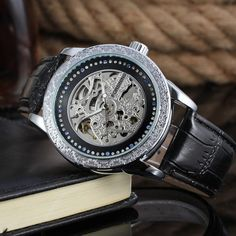 2016 Cheap Reloj oem With Automatic Skeleton Watches For Men, Create Your Own Brand-Forsining Watch Company Limited    www.forsining.com