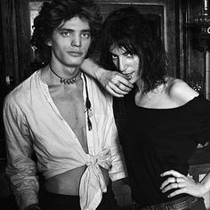 Patty Smith and Robert Mapplethorpe