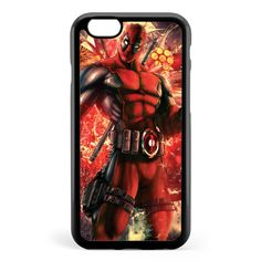 Deadpool Cool Style Apple iPhone 6 / iPhone 6s Case Cover ISVF038