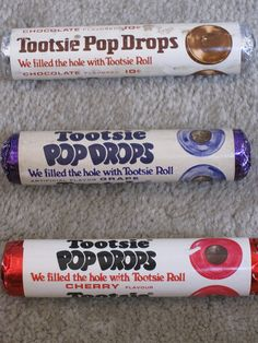 Tootsie Pop Drops, 1970s