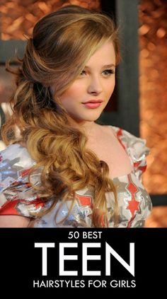 Here's a list of 50 most popular #teen #hairstyles for girls which you can try