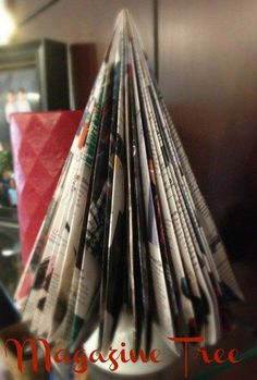 How to Make a Magazine Christmas Tree