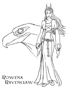Rowena Ravenclaw by Juan026 on DeviantArt