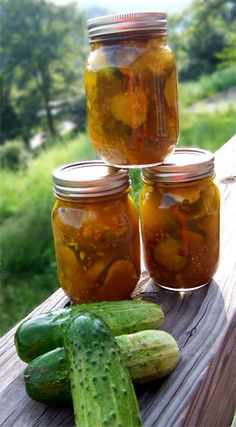 Pickling cucumbers for Bread and Butter Pickles a classic home canning project.  Bread and Butter pickles great on burgers and grill food!