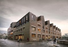 Metropolitan Workshop's consented redevelopment of 83 Barchester Street, Poplar, London E14 for Canary Wharf Group