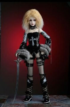 Gothic Dolls | All styles ;)beautiful inspiration for my favorite client