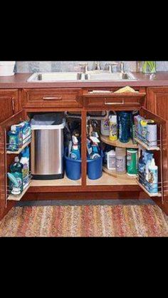 Kitchen organization!