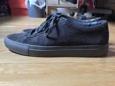 Image result for suede common projects achilles mid