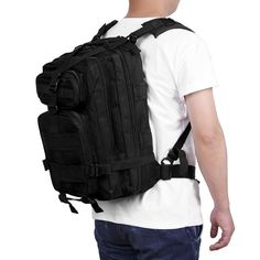 Waterproof Military Tactical Camouflage Backpack