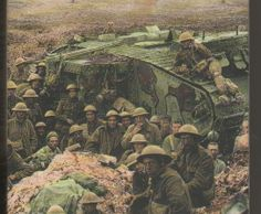 BRITISH ARMY World War One, Our World, First World, Ww1 Pictures, Commonwealth, Ww1 Tanks, British Armed Forces, British Army, Military History