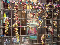 Love Locks in Juliet's House