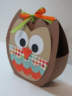 Owl goodie bags, only different colors