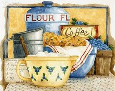 Иллюстрации на тему Прованс от Diane Knott